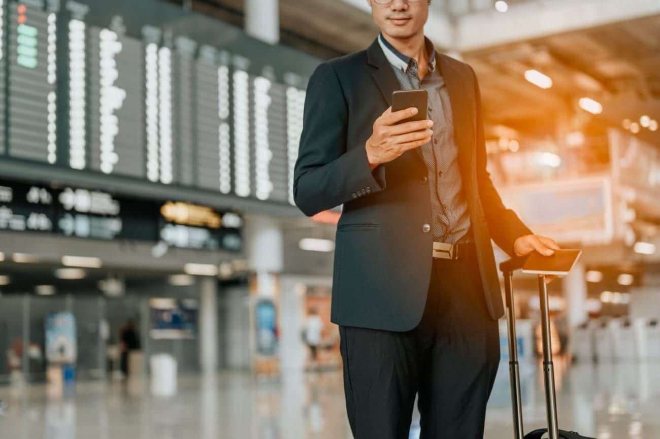 Device security while you travel
