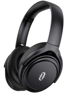 TaoTronics SoundSurge 85 ANC Headphones 40H Playtime Type-C Fast Charging Over Ear Wireless Headphones – Black – TT-BH085