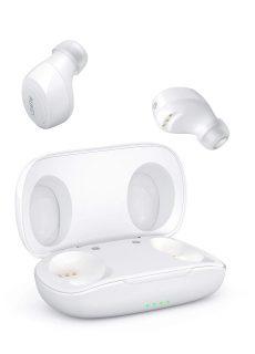 Aukey Portable True Wireless Earbuds White EPT16S