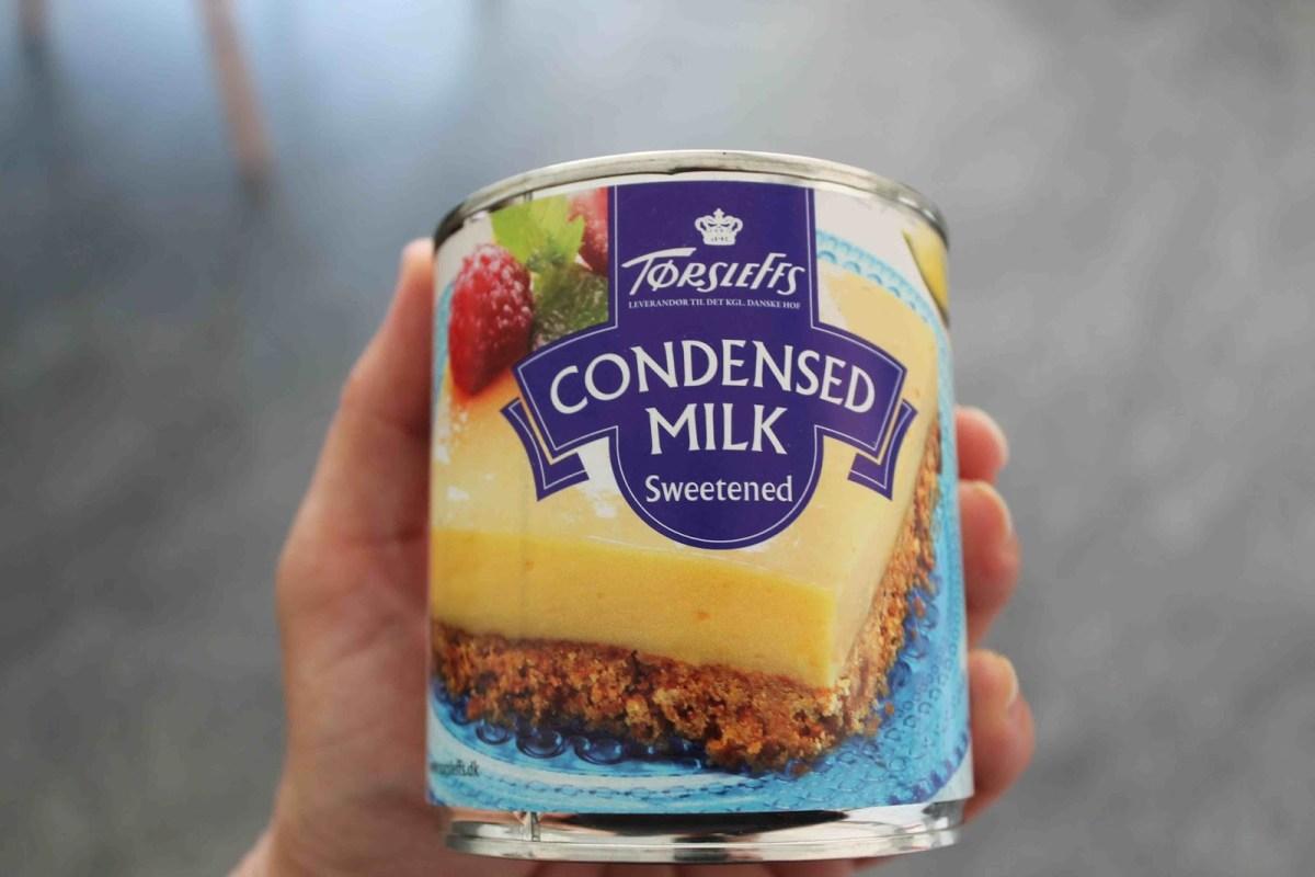 Kondenserad eller karamelliserad mjölk