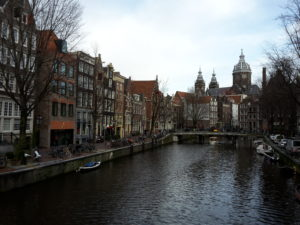 houses canal Amsterdam