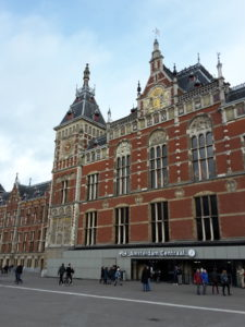 central railway station Amsterdam