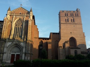 toulouse cathedral gothic roman