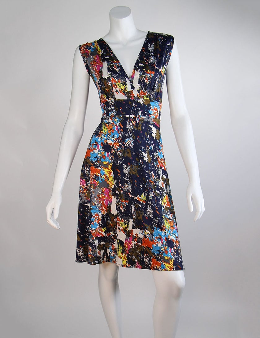 Sleeveless Confetti Cleopatra Dress