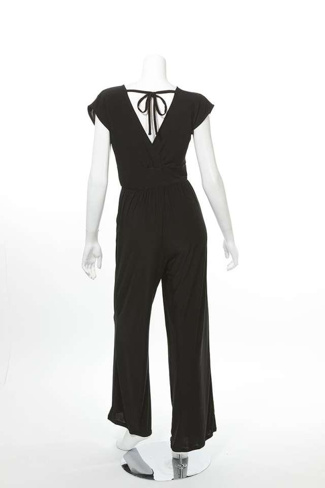 Veronica Lake Black Jumpsuit