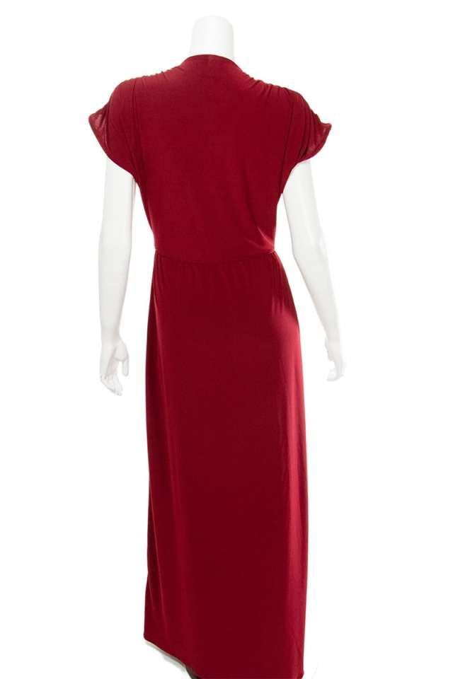Red Faux Wrap – Emmy Dress!