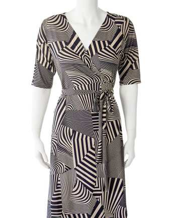 Hypnotize Wrap Dress
