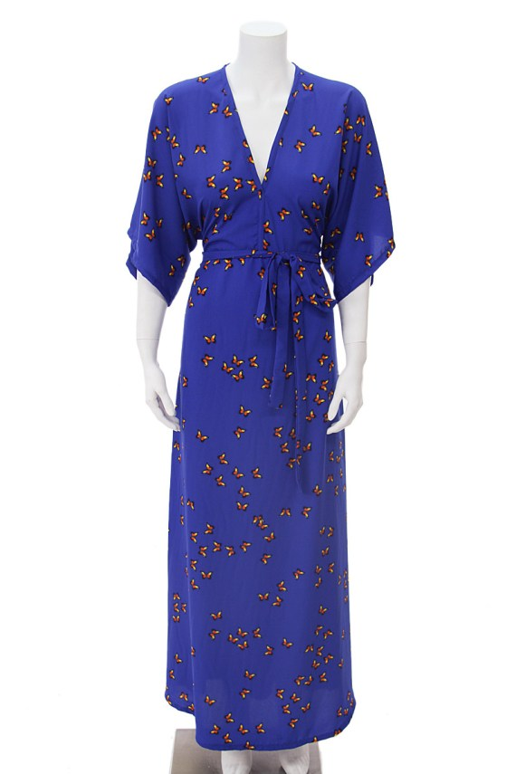Painted Lady Butterfly Carli Dress
