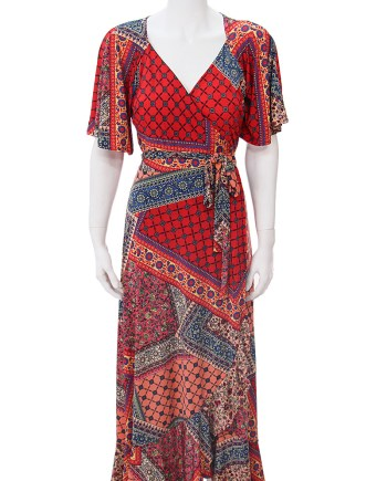 Festival Vibes Scarlet Dress