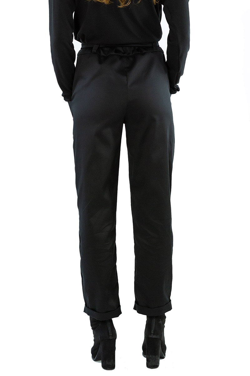 Black Long Island Pants