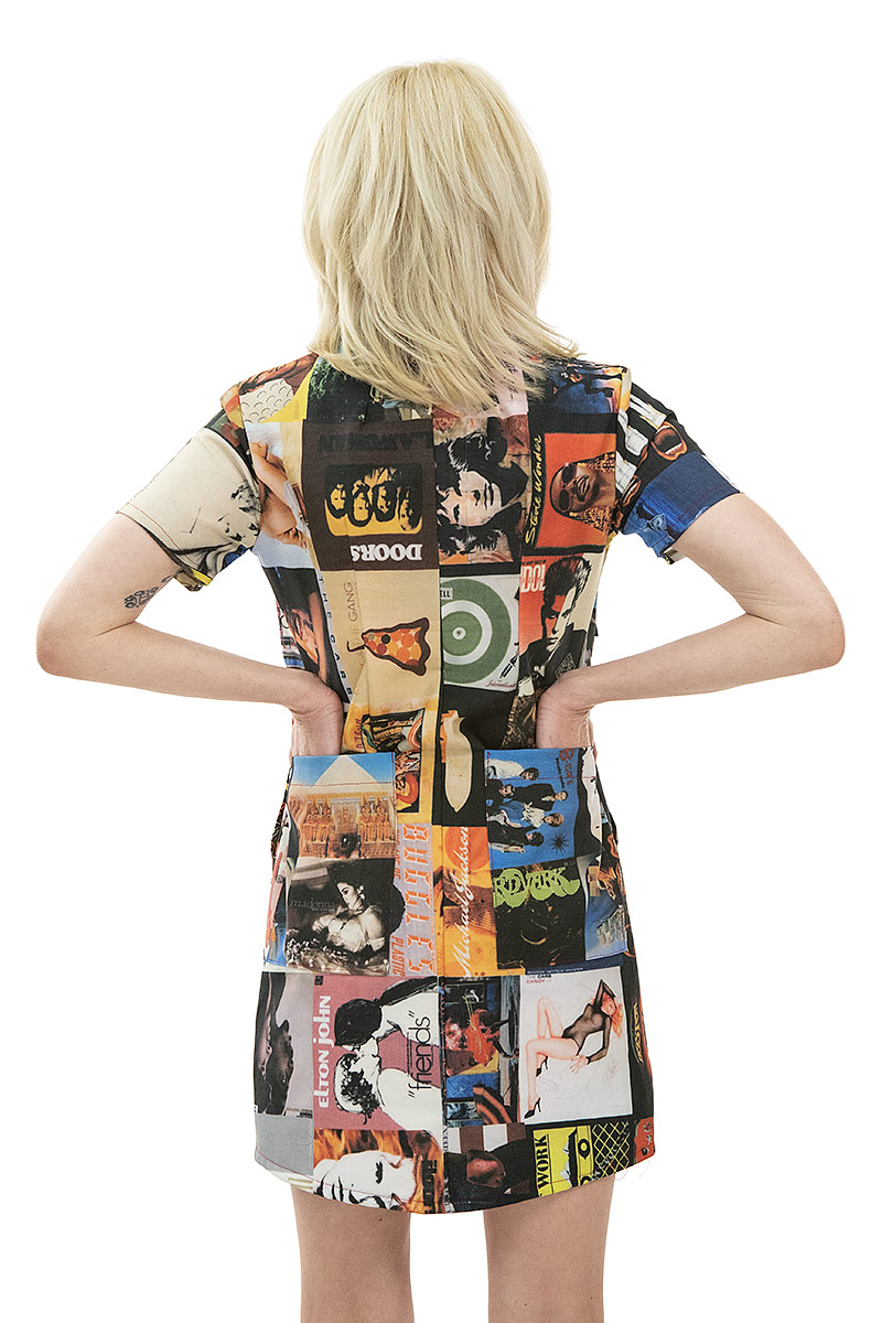 Album Cover Coverall Dress
