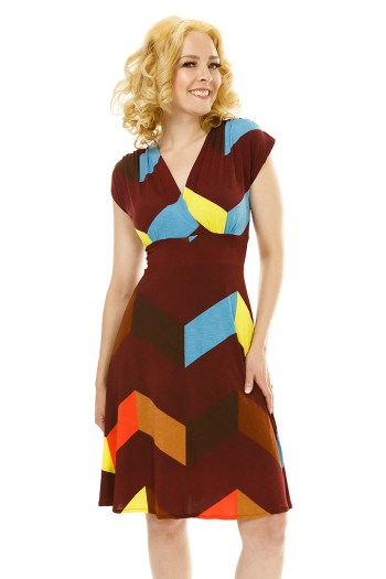 Geo Chevron Veronica Lake
