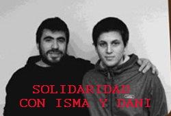 Isma y Dani, dos estudiantes se enfrentan a 9 años de cárcel cada uno por ejercer el derecho de huelga