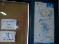 Obras en el hospital Ramón y Cajal