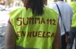 Sanitarios del SUMMA contra los sindicatos convocan una huelga del 27 abril al 3 de mayo