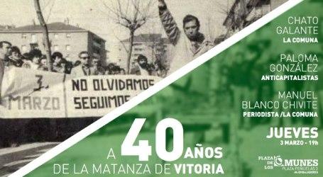 Matanza de Vitoria: 40 años sin condenar a los responsables. Vergüenza