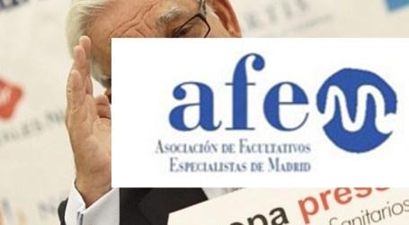 AFEM, asociación de especialistas, califica de 'ocurrencia' la solución a las urgencias en Madrid