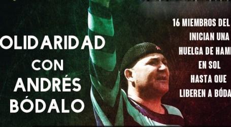 16 miembros del SAT inician una huelga de hambre en Sol hasta que liberen a Bódalo