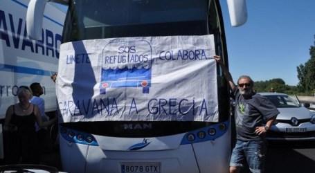 """Caravana a Grecia """"Abran las fronteras"""""""