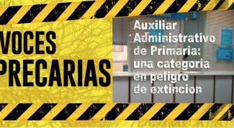 Auxiliar Administrativo de Primaria: una categoría en peligro de extinción
