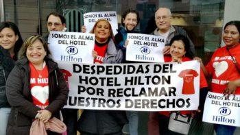 Despiden a cinco camareras de piso de un hotel de Barcelona que denunciaron su precariedad laboral