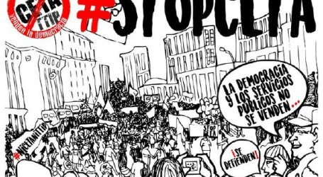 La campaña No al TTIP, CETA, TiSA convoca una manifestación unitaria en Madrid el 3 de junio