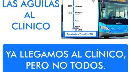 Concentración en el Mercado de Las Águilas para pedir la Prolongación del Autobús 138. Lunes 26 Junio 20.00h.