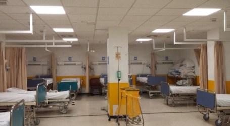 Hacinados 23 pacientes en una sala por el colapso del Hospital Ramón y Cajal de Madrid