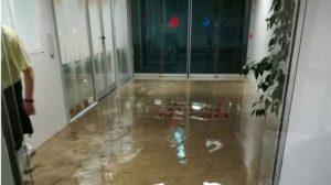 """MATS exige """"responsabilidades"""" tras las últimas inundaciones en el Hospital La Paz"""