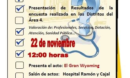 ¿Qué opinan los usuarios del Hospital Ramón y Cajal?