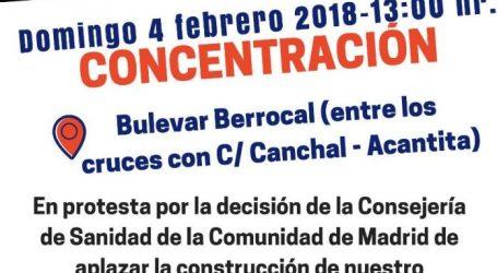 Concentración por el centro de salud de Butarque. Domingo 4 Febrero 13:00 horas