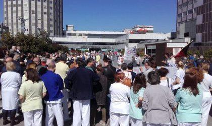 El MATS, contra la privatización de las cocinas y almacenes del hospital La Paz