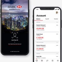 HSBC iOS App on iPhone X has a really bad problem