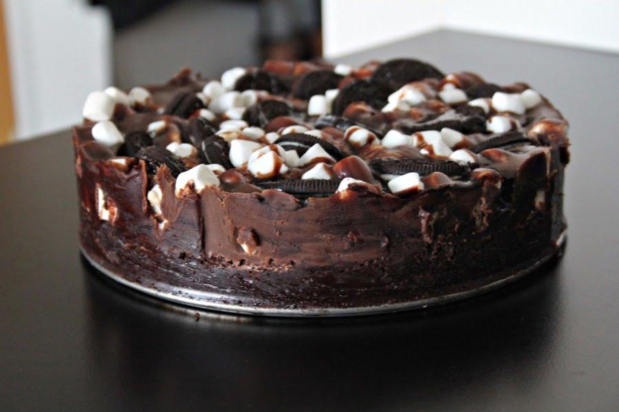 oreo mud cake recept