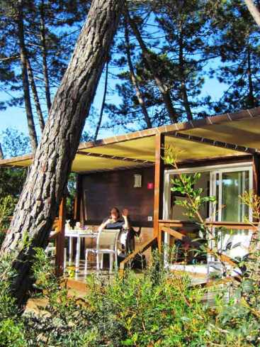 Luxus Camping Bungalow