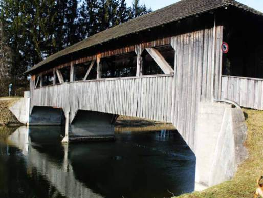 Brücke am Isarkanal