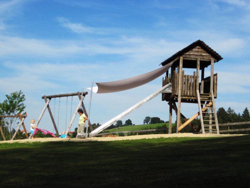 Spielplatz neben Moorweg