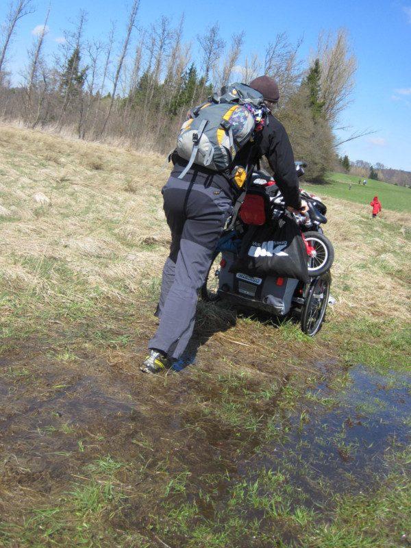Mitten durch den Sumpf