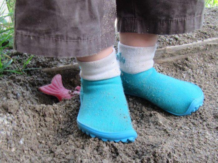 Leguanitos Socken Schuhe