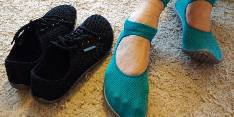 Barfußschuhe im Test: leguano aktiv und ballerina