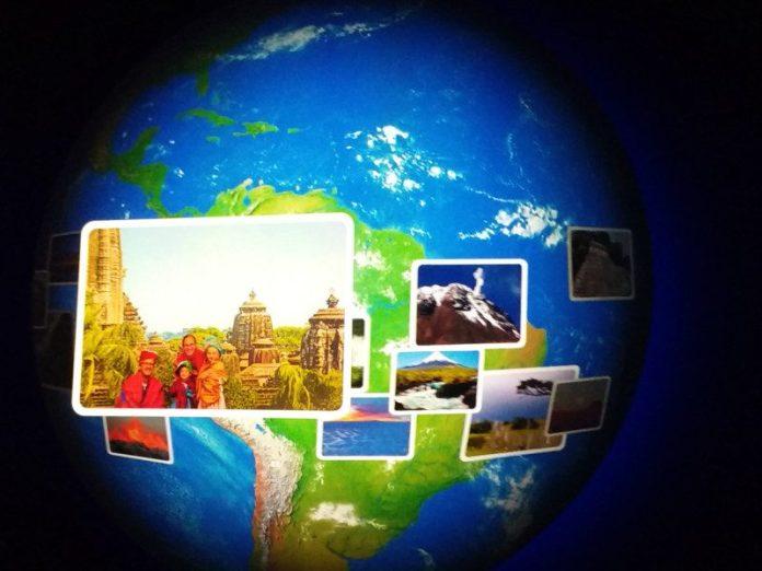 interaktive Weltreise im Hymer-Museum