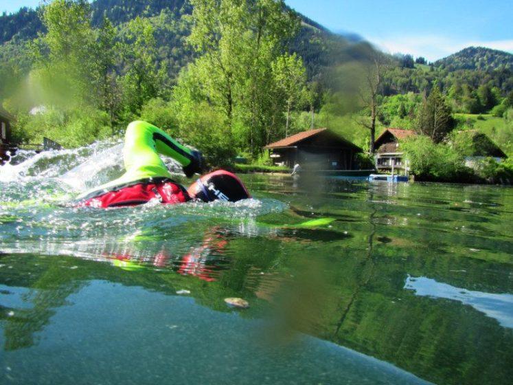 """Schwimmtraining nach """"total immersion"""""""