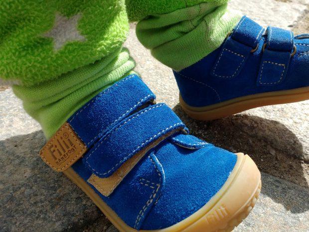 Filii - ein echter Barfuß-Schuh für Kinder