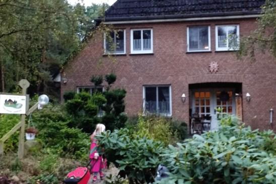 Das kleine Landhaus in Oberhaverbeck mitten im Naturpark Lüneburger Heide