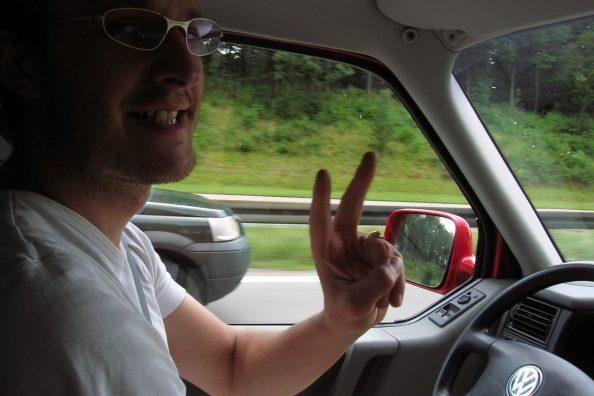 entspanntes Fahren mit grossartiger Übersicht im VW T4 Bus