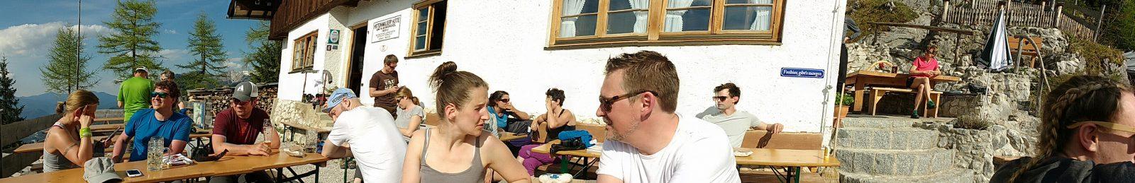 Workshop auf der Mittenwalder Hütte