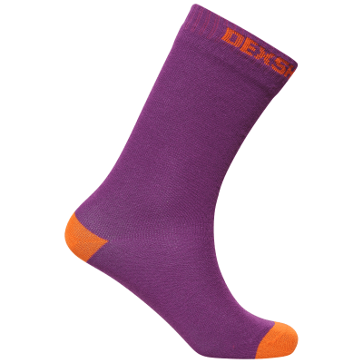 Dexshell Ultra Thin Crew Socks PURPLE