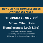 What Does Homelessness Look Like