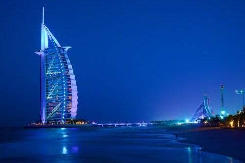 バージュ アル アラブ。一番高いホテル。