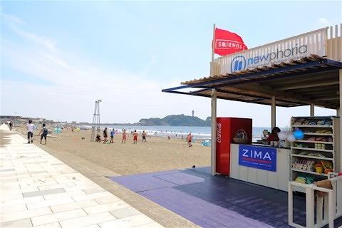 18_江ノ島を臨む鵠沼海岸まで歩いてすぐです!